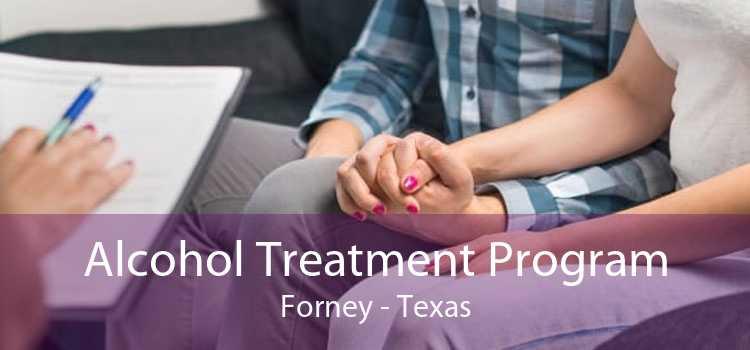 Alcohol Treatment Program Forney - Texas